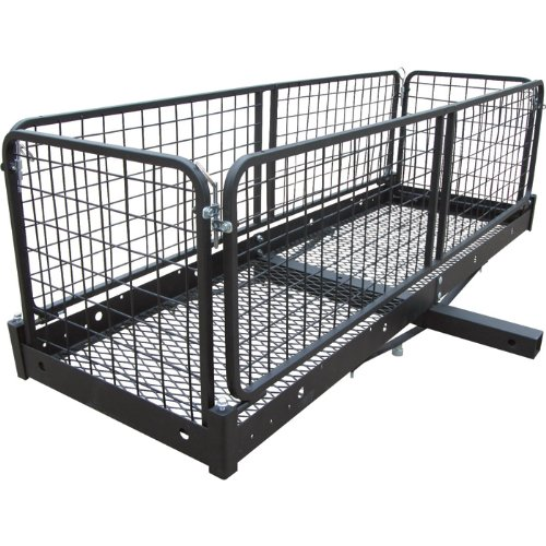 Ultra-Tow Steel Cargo Hauler with Removable Basket - 500-Lb. Capacity, 60in.L x 20in.W x 20in.H by Ultra-Tow