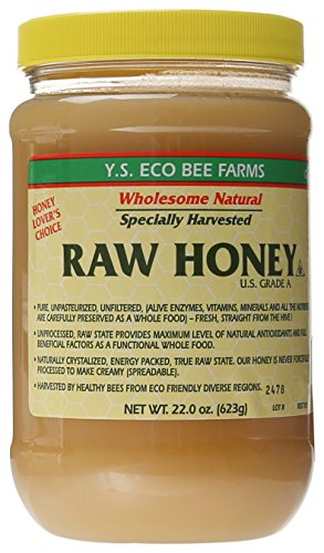 Y.S. Eco Bee Farms Raw Honey - 22 - Honey Liquid Unpasteurized