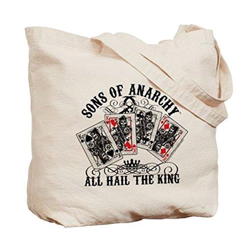 CafePress–All Hail The King Tote Bag–Natural gamuza de bolsa de lona bolsa, bolsa de la compra