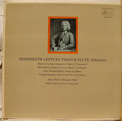 Jean Pierre Rampal & Robert Veyron-Lacroix Eighteenth Century French Flute Sonatas vinyl record