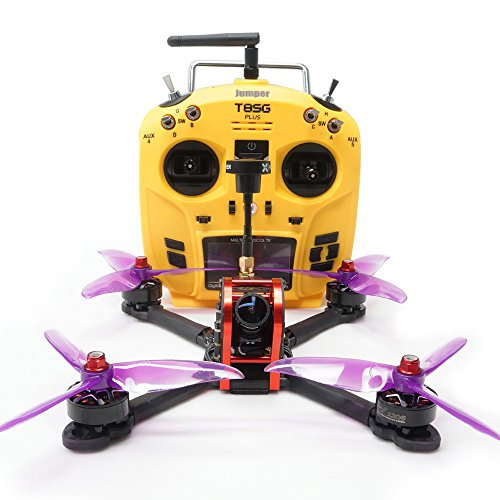 ARRIS X210S 210MM 5″ RC Quadcopter FPV Racing Drone RTF W/Jumper T8SG V2 PLUS Transmitter + Flycolor 4-in-1 Tower + Foxeer Arrow Mini Pro Camera + VT5804 V2 VTX