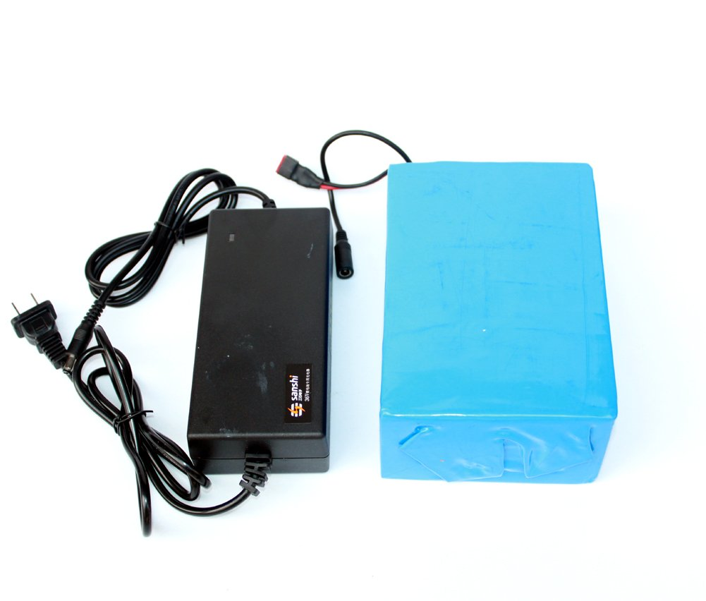 36V 12Ah Electric Bike Lithium Battery With Charger Electric Scooter Battery Can Put In Our Battery Bag by L-faster (Image #1)