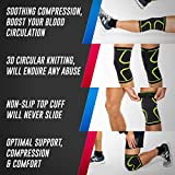 MODVEL 2 Pack Knee Compression Sleeve   Approved