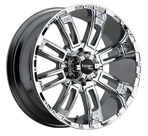 - Incubus 816 Crusher Chrome 17x9 Wheel / 5-114.3 mm Bolt Pattern / +12 mm Offset / 83.7 mm Hub Bore