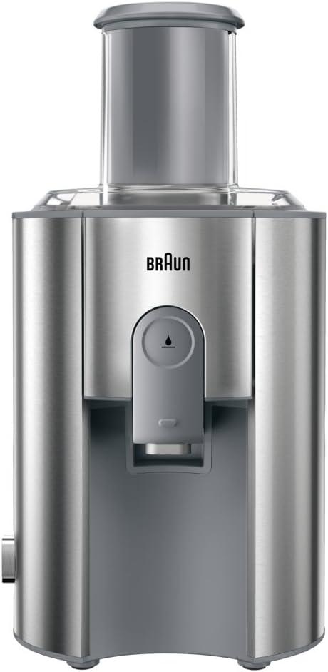 Braun Multiquick 7 Juicer J 700 Exprimidora de zumo, 1000 W, acero inoxidable