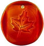 Kitras Maple Leaves Suncatcher, Red