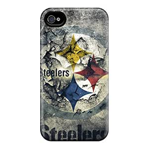 Iphone 6 Cases Covers - Slim Fit Protector Shock Absorbent Cases (pittsburgh Steelers)