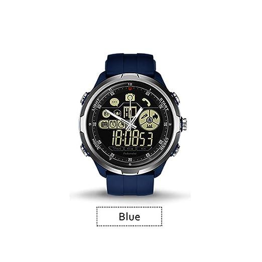 Zeblaze Vibe 4 Hybrid Robusto Reloj Inteligente Híbrido 50 Metro Impermeable Puntero Luminoso Conteo de Pasos Múltiples Funciones Compatibilidad iOS y ...