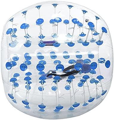 pesters Tpu burbuja balón de fútbol abrazadera de metal bola, 1,2 ...