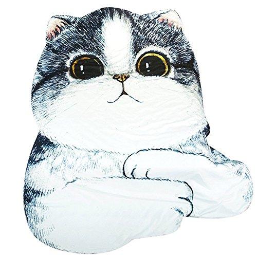 3D Animal Prints Blanket Bedding Cat Shaped Summer Quilt Comforter Washable Light Quilt by Getime
