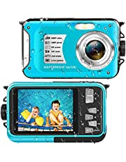 $61 » Waterproof Camera Underwater Camera Full HD 1080P 30 MP Video Recorder 16X Digital Zoom 10 FT Waterproof Digital Camera for Snorkeling