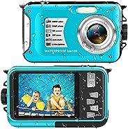 Waterproof Camera Underwater Camera Full HD 1080P 30 MP Video Recorder 16X Digital Zoom 10 FT Waterproof Digit