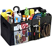MaidMAX Trunk Organizer for Car w/ Two Handles & Side-Pockets