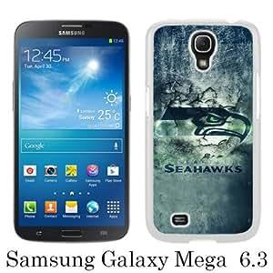 Seattle Seahawks 20 White Samsung Galaxy Mega 6.3 i9200 i9205 Screen Phone Case Unique and Fashion Design