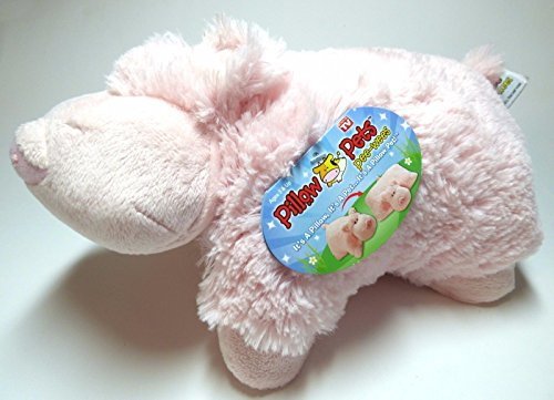 New Pillow Pet Pee-Wee Small 11`` Wiggly Pig ,#G14E6GE4R-GE 4-TEW6W269549 ()