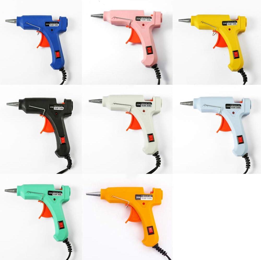 KKmoon Pistola de Silicona Caliente,Pistolas Encolar de Alta Temperatura para Manualidad//Artesan/ía de Bricolaje//Reparaciones R/ápidas