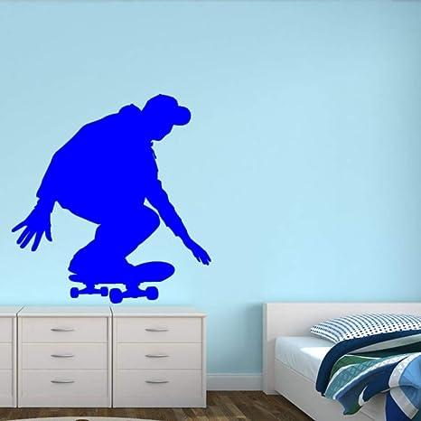 Skateboarder vinilo pegatinas de pared para la habitación de los ...