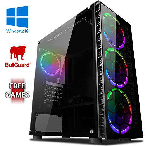 Vibox I-17 Gaming PC with a Free Game – Windows 10 – WiFi – Quad Core Ryzen Processor – Radeon Vega 8 Graphics – 8GB RAM…