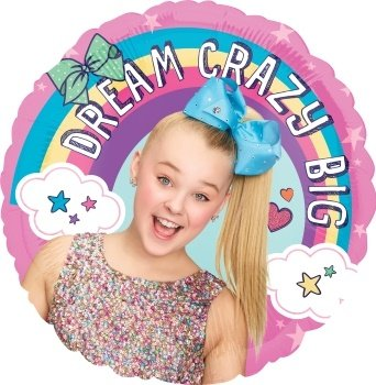 JoJo Siwa Party Supplies Dream Crazy Big 5th Birthday Balloon Bouquet Decorations by Mayflower Products (Image #1)