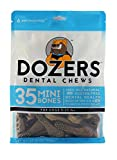 Dozers Dental Dog Chews, Mini, 12.3 oz. - 35 Treats