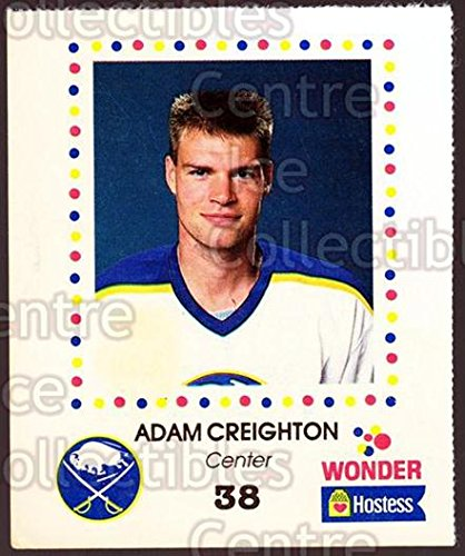 (CI) Adam Creighton Hockey Card 1987-88 Buffalo Sabres Wonder Bread 7 Adam Creighton