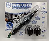 #1: Brush Hero 360 Wheel Brush Hero - Car Wheel Cleaning Brush - Car Wash Accessories, Supplies - Attaches To A Hose to Clean your Car Rims, Motorcycles, Bicycles, BBQ Grills, Outdoor Furniture, Boats