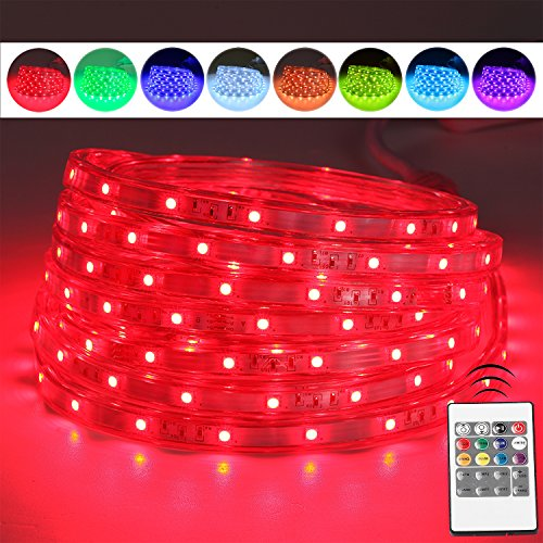 Led Multi Color Flat Rope Light
