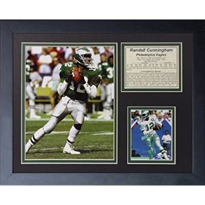 """Legends Never Die """"Randall Cunningham"""" Framed Photo Collage, 11 x 14-Inch by Legends Never Die"""
