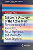 Children's Discovery of the Active Mind: Phenomenological Awareness, Social Experience, and Knowledge About Cognition (SpringerBriefs in Psychology)