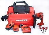 Hilti 03490196 Cordless Rotary Hammer Drill Kit, 18-Volt