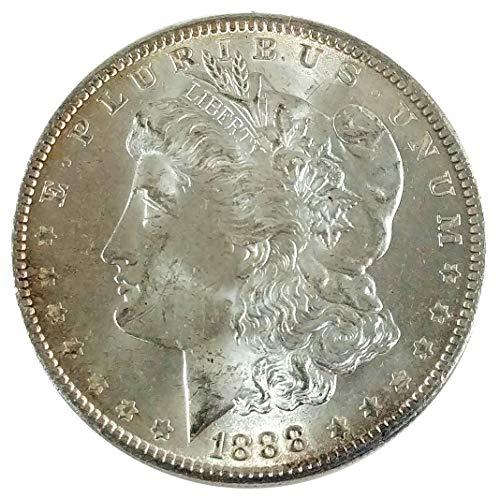 1888 Morgan Silver Dollar $1 Brilliant Uncirculated