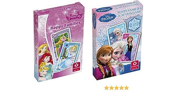Cartamundi 10000842 Princesas Disney Happy Families y Juegos de ...