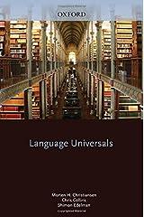 Language Universals Hardcover