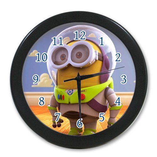 G-Store Minions Buzz Lightyear Custom Alarm Clock as a Nice Gift 9.65 inches (Buzz Lightyear Alarm Clock)