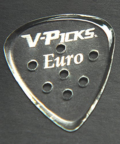V-Picks Euro Guitar Pick-Pack (x3) E13 w/ Bonus RIS Pick (x1)
