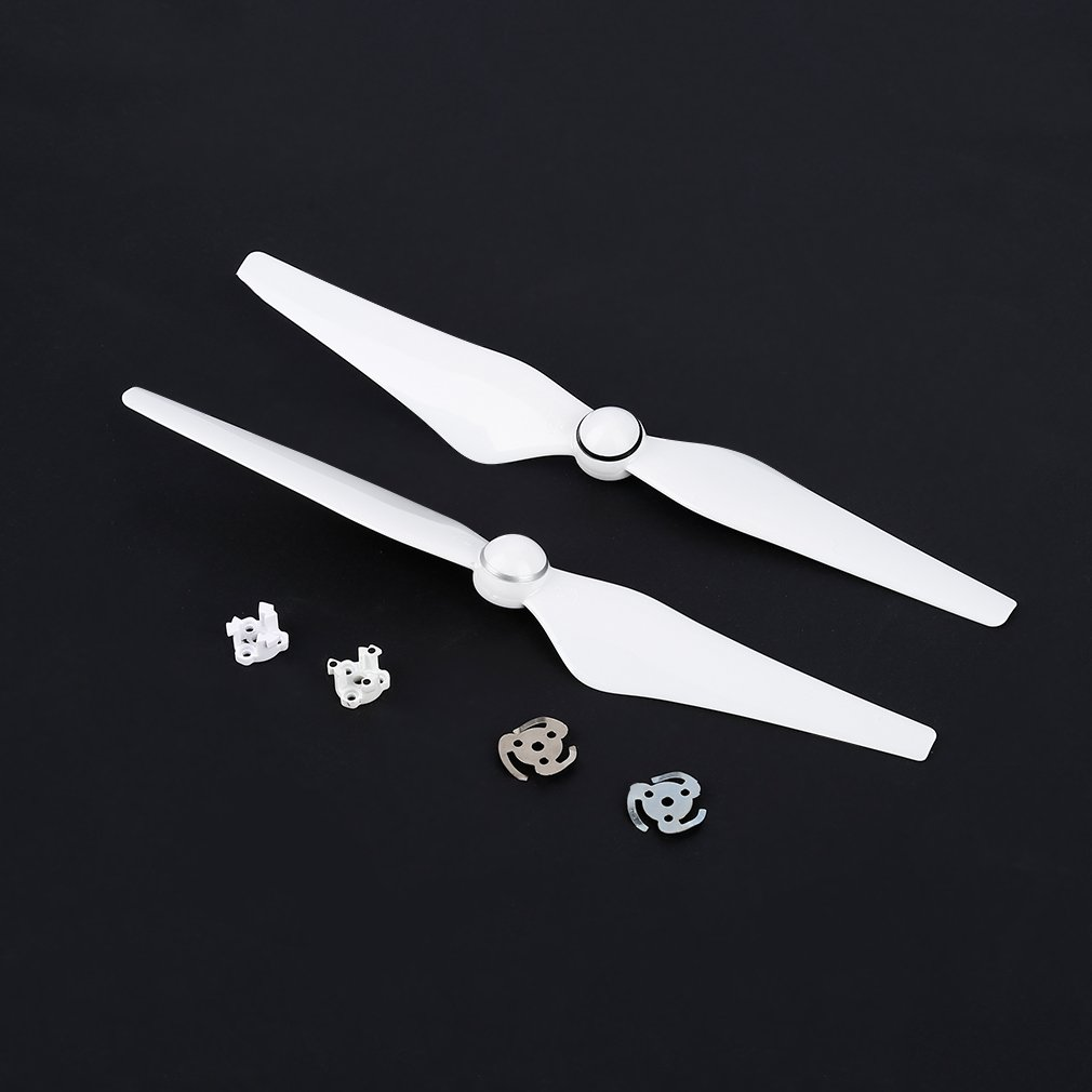 Anbee/® 8pcs 9450S Self-locking Propeller Props Blades with Accessories for DJI Phantom 4 White