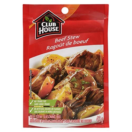 Club House Beef Stew Seasoning Mix, 43g/1.5oz., {Imported from Canada}