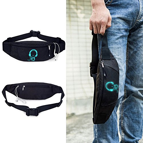 Waist Pack Bum Bag for Running Cycling Traveling - 8