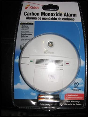 CARBON MONOXIDE ALARM MODEL KN-COB-B (P/N: 9C05): KIDDE: Amazon.com: Books