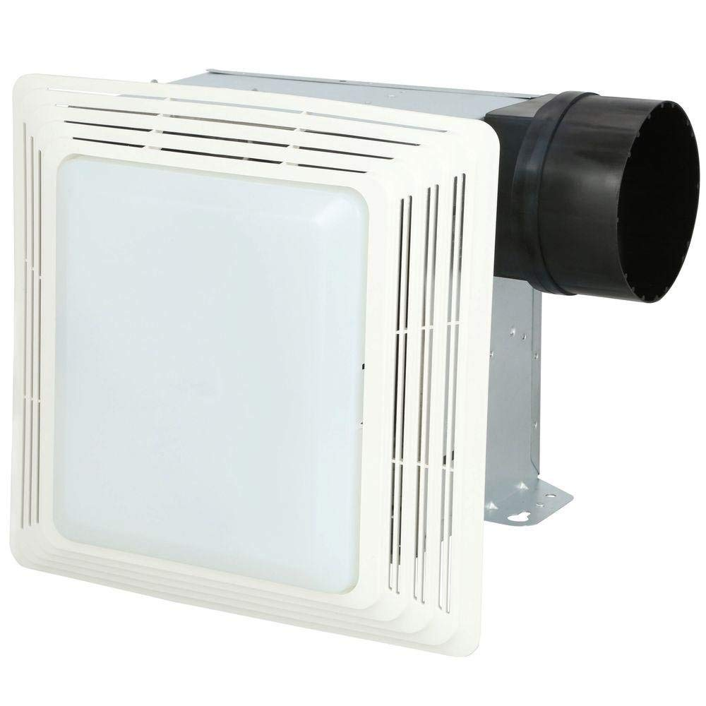 50 CFM and 2.5-Sones Broan 678 Ventilation Fan and Light Combination