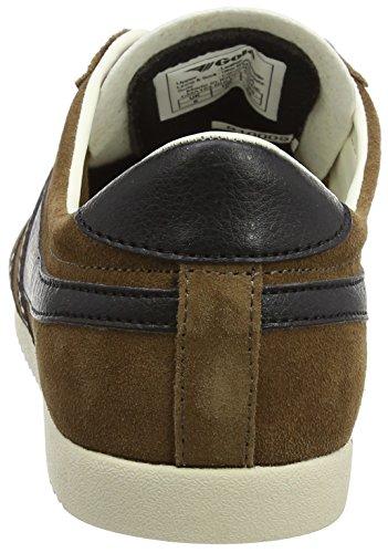Gola Herren Kugel Suede Fashion Sneaker Tabak / Schwarz