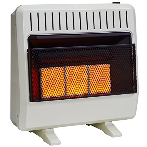 Avenger FDT3IR Infrared Gas Space Heater, White