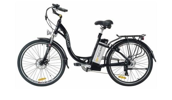 TUCANO Estilo - Bicicleta eléctrica deportiva (Motor 250W - 36V ...