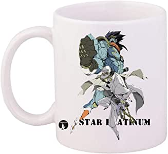 cup of the anime JoJo's Bizarre Adventure
