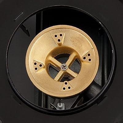 2-Burner High Performance Butane Countertop Range / Portable Stove with Brass Burners