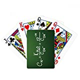 Chemistry Kowledge Ion Product Poker Playing Card Tabletop Board Game Gift