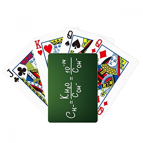 Chemistry Kowledge Ion Product Poker Playing Card Tabletop Board Game Gift by beatChong