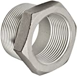 Stainless Steel 316 Cast Pipe Fitting, Hex Bushing, Class 150, 3'' NPT Male X 1'' NPT Female