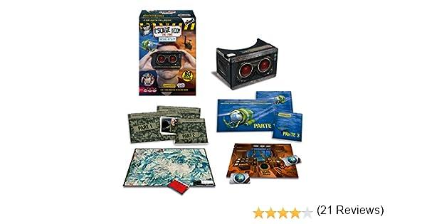 Diset- Escape Room Virtual Reality, Juego de Mesa (62309): Amazon.es: Juguetes y juegos
