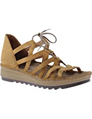 Naot Footwear Womens Yarrow Oily Dune Nubuck Sandal